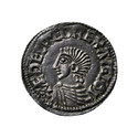 Aethelred II Long Cross Type Penny Obverse, REF: ITPQUX